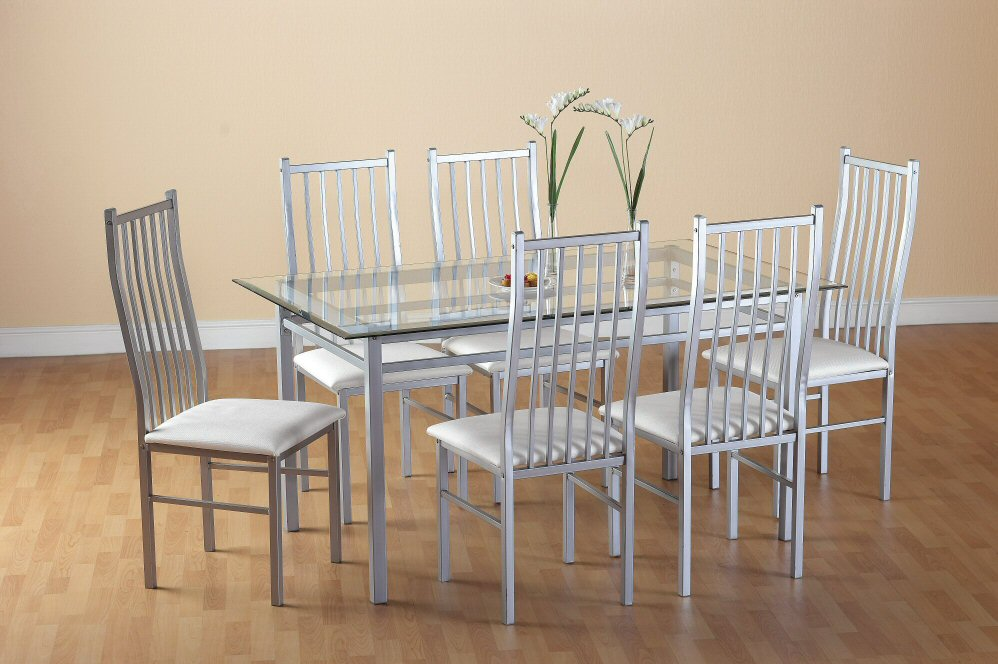 Jasmin Table & 6 Chairs